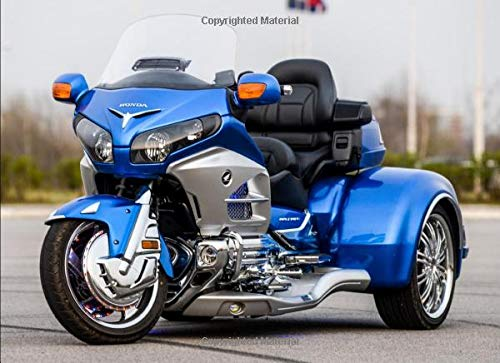 Honda Goldwing Trike: 120 pages with 20 lines you can use as a journal or a notebook .8.25 by 6 inches