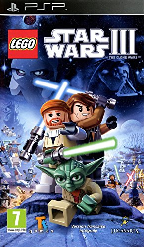 lego star wars iii : the clone wars [sony psp]