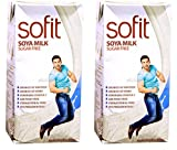 Sofit Milk - SOYA, Sugar Free 1L- (Pack of 5)