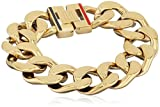 Tommy Hilfiger Damen-Armband 333 Gelbgold Emaille 20 cm-2700702