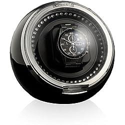 Designhutte Watch Winder Crystal Black / white LED