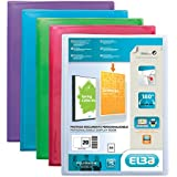 Elba Polyvision Lot de 20 Protège documents personnalisable 40 Vues
