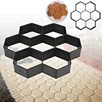 Hexagon Driveway Paving Pavement Stone Mold Concrete Pathmate Paver