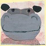Oopsy Daisy Hippo von Maria Carluccio Leinwand Wand Art, 10von 25,4cm