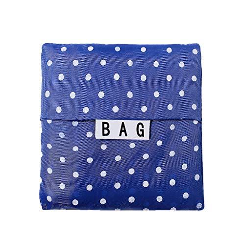 Lebensmittelgeschäft Tasche Serria® Faltbare Wiederverwendbare Einkaufstasche aus Nylon mit Öko-Aufbewahrungsbeutel