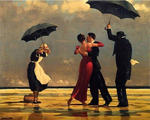 Frame-set Wedding (Tango quadratisch DIY Malen nach Zahlen Europa handbemalt Öl auf Leinwand Art Wand Bild für Zimmer Dekoration, Tango Square, unframed)
