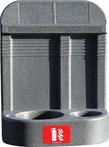 Firechief HS26/GREY - Supporto doppio per estintore, grigio