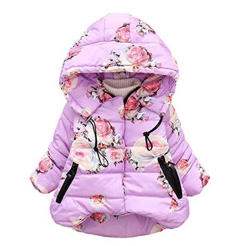 bb6376b1e5a59 Innerternet Manteau Coupe-Vent à Capuche Chaud Parka Enfant BéBé Fille  GarçOn Hiver Fourrure avec