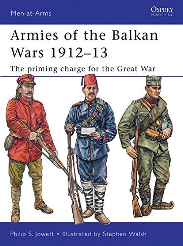 Armies of the Balkan Wars 1912–13: The priming charge for the Great War (Men-at-Arms) por Philip Jowett