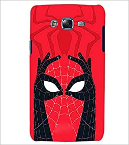 PrintDhaba Spider face D-3971 Back Case Cover for SAMSUNG GALAXY ON 7 (Multi-Coloured)