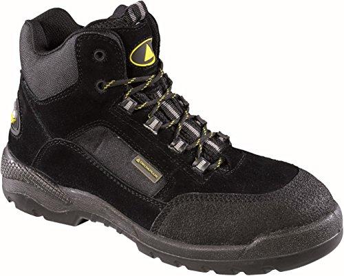 Delta Plus Shoes - Stivali In Pelle Pu / Poliestere / Poliestere Nero Taglia 44