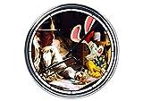 Wanduhr Partete in Stahl Wer hat Kekse Rogger Rabbit
