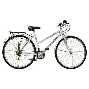 51m9UwgbrWL. SS300  - Classic Women's Touriste Commuter Bike - White ( Wheel 700C, Frame 19 Inch)