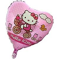 18 pouces Bonjour Kitty Pink Heart Shaped Balloon Foil [Jouet]