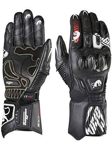 Furygan 4440-143 FIT-R2 Handschuhe, schwarz-weiß, Größe XL