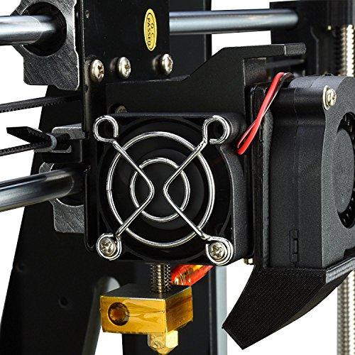 Aufgerüstete Version- ALUNAR 3D Desktop Drucker Self Assembly Reprap Prusa I3 Kit mit Filament - 4