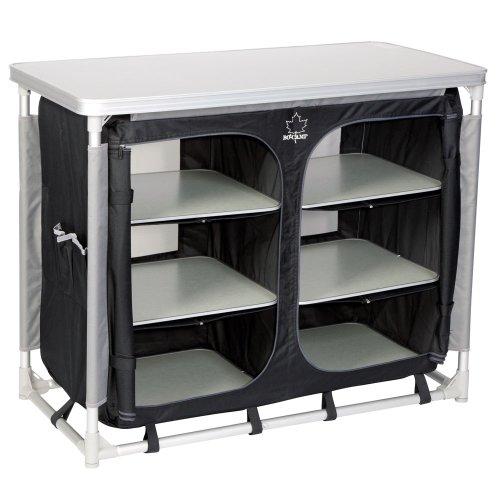 Siehe Beschreibung BoCamp Küchenschrank Deluxe wasserdicht, verstellbare Füße, 49x100 cm