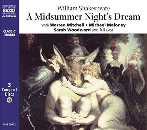 A Midsummer Night's Dream, 3 Audio-CDs: Performed by Warren Mitchell & Cast (Classic Drama)