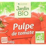 Jardin Bio Pulpe de Tomate sans Sel Ajouté 500 g - Lot de 6
