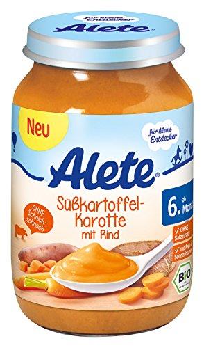 Preisvergleich Produktbild Alete Süßkartoffel-Karotte mit Rind