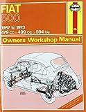 Fiat 500 (57 - 73) Haynes Repair Manual (Haynes Service and Repair Manuals)