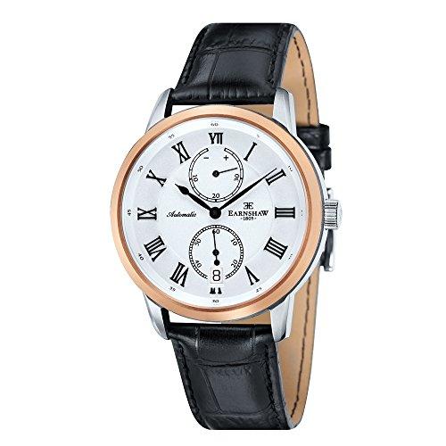 Thomas Earnshaw ES-8035-02 Chancery - Wristwatch men's, Leather, Band Colour: Black