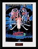GB eye Ltd Nightmare On Elm Street, Dream Warriors Kunstdruck, gerahmt, 30x 40cm, Holz, Verschiedene, 33x 44x 3cm
