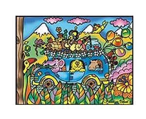 Colorvelvet M063 - Autobus Disegno, 37 x 28 cm