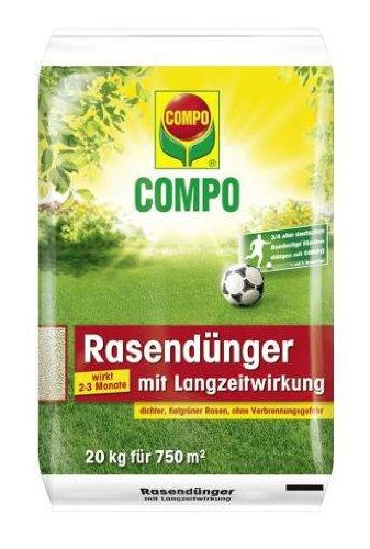 Preisvergleich Produktbild COMPO mit Langzeitwirkung / 20 kg Rasendünger