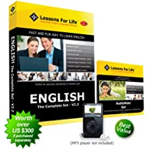 Lessons For Life - English (US): THE COMPLETE SET - V2.2 - includes 7 full programs + AudioMate Set