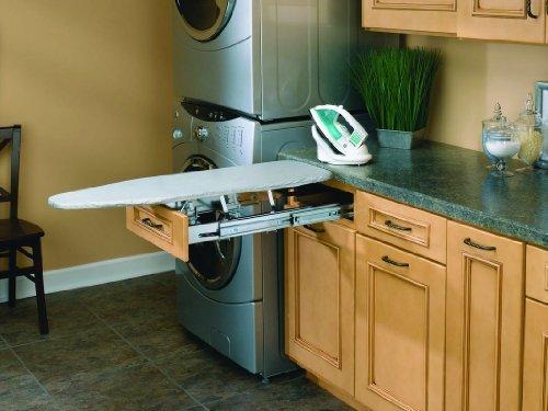 Chrome Vanity (Rev-A-Shelf VIB-20CR Vanity Fold-Out Ironing Boards - Wire-Chrome by Rev-A-Shelf)