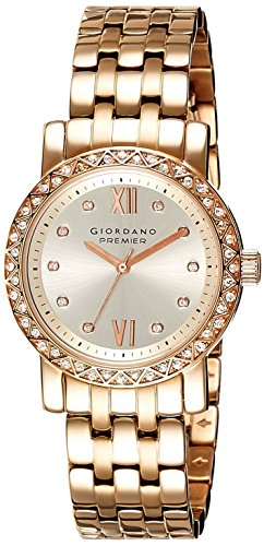 Giordano Analog Silver Dial Women's Watch - P272-66 image