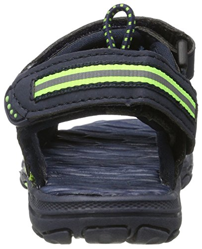 Kappa Korfu, Sandales Bout Ouvert Garçon Bleu (Navy/green)