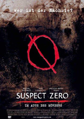 Suspect Zero Plakat Movie Poster (11 x 17 Inches - 28cm x 44cm) (2004) German