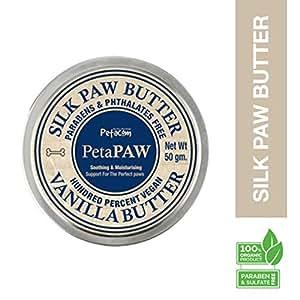 Petacom Paw Silk Butter, Vanilla Butter, 50g (White)