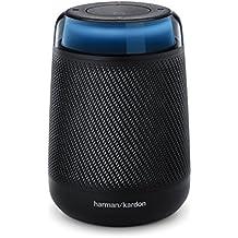 Harman Kardon Allure Portable - Diffusore wireless portatile a comando vocale (integrato Amazon Alexa), colore nero