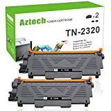 Aztech 2 Packs Kompatibel für Toner Brother TN-2320 Brother Toner TN 2320 TN2320 für Toner Brother MFC L2700DW MFC-L2700DW Brother MFC-L2700DN MFC L2700DN ,Brother HL-L2340DW Toner HL-L2360DN Brother HL-L2360DN Brother HL-L2300D Toner Brother DCP-L2520DW DCP-L2500D Brother Drucker Toner