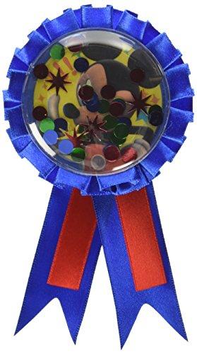 Mouse Birthday Party Award Ribbon Accessory, 6
