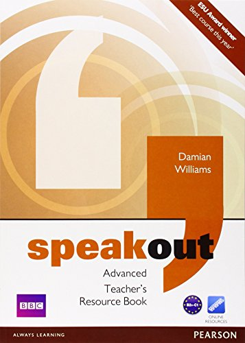 Speakout Advanced Teacher's Book by Mr Damian Williams (26-Apr-2012) Paperback