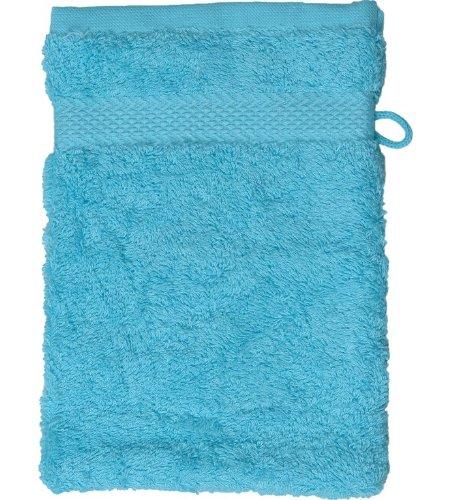 Sensei La Maison du Coton 0041007 Gant Sensoft Coton Bleu Turquoise 16 x 22 cm