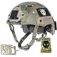 Ejército estilo militar SWAT combate PJ tipo Casco Fast saturación (L/XL) MC para tiro CQB táctico para Paintball