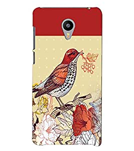PRINTVISA Bird Case Cover for Meizu M2