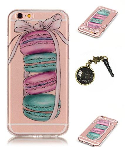 TPU Silikon Schutzhülle Handyhülle Painted pc case cover hülle Handy-Fall-Haut Shell Abdeckungen für Smartphone Apple iPhone 6 +Plus (5.5 Zoll)+Staubstecker (6FB) 10
