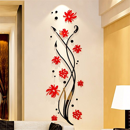 Xjklfjsiu 3d tridimensionale adesivi da parete adesivi for Mattonelle adesive da parete