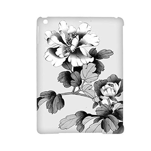 Babu Building F¨¹r M?dchen Handytasche aus Hartplastik Sch¨¹tzend Drucken Asian Chinese Painting 3 Verwenden Sie auf 5Gen iPad Air 1Gen (B Md785ll)