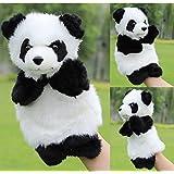 Ulooie bébé enfants mignon en peluche étage Lui Indiquent Educational Toys Marionnette (Panda)