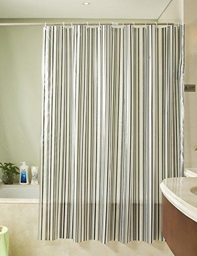 CR Tende da doccia tende da doccia Bagno impermeabile Muffa Curtain tagliato ombra tenda di copertura ( dimensioni : 180*180cm