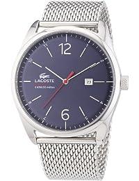 Lacoste Herren-Armbanduhr Analog Quarz Edelstahl 2010683