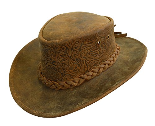 7d726b5c0e4c2 Kakadu Traders Australia - Sombrero Cowboy - para Hombre Tobacco X-Large