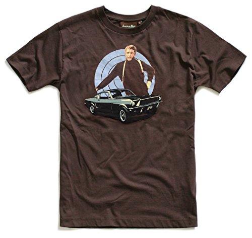 Baretta T-Shirt Ford Mustang Steve Movie 70er Jahre, M